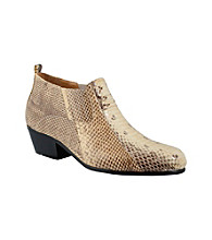 Giorgio Brutini® Men's Plain-toe Snakeskin Demi Boot