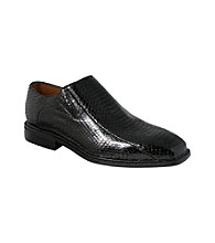 Giorgio Brutini® Men's Plain-toe Gored Snakeskin Slip-on Shoe