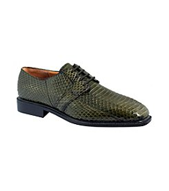 Giorgio Brutini® Men's 4-Eyelet Plain-Toe Blucher Snake Oxfords