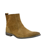 Giorgio Brutini® Men's Plain-toe Side-zip Wax Suede Dress Boot