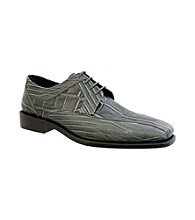 Giorgio Brutini® Men's Croco/Lizard Print Runoff-toe Leather Oxford