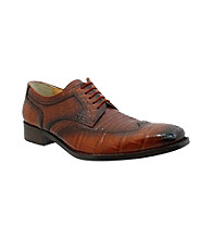 Giorgio Brutini® Men's Croco/Lizard Print Wing-tip Oxford
