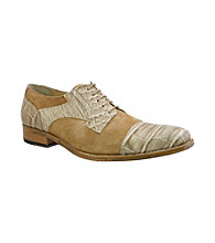 Giorgio Brutini® Men's Croco Print Cap-toe Oxford Shoe