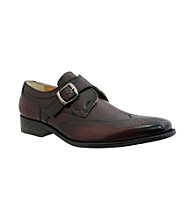 Giorgio Brutini® Men's Monk Strap Wing-tip Slip-on with Shadow Finish