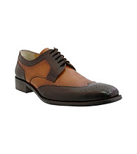 Giorgio Brutini® Men's 5-Eyelet Wing-tip Oxford Slip-on with Shadow Effect