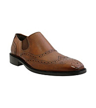 Giorgio Brutini® Men's Double Gore Wing-tip Slip-on Dress Shoe
