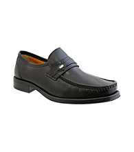 Giorgio Brutini® Men's Tubular Sheepskin Moc Slip-on Dress Shoe
