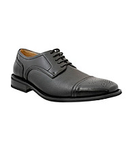 Giorgio Brutini® Men's Cap-toe Dress Oxford with Textured Vamp
