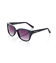 Steve Madden Oxford Black Retro Neon Sunglasses