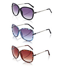 Steve Madden Square Glam Sunglasses