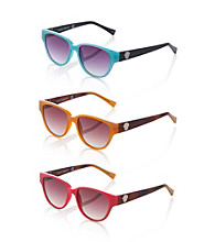 Vince Camuto™ Plastic Colored Wayfarer Sunglasses