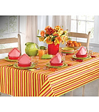 Fiesta® Dinnerware Calypso Stripe Sunflower Table Linens