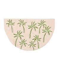 Nourison Palm Tree Slice Rug