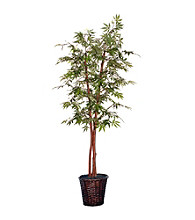 Vickerman 6' Deluxe Japanese Maple Rattan Basket