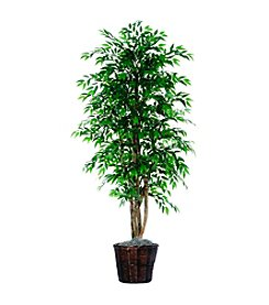 Vickerman 6' Smilax in Dark Rattan Basket
