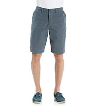 John Bartlett Consensus Men's Navy Seal Twill Flat Front Short