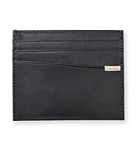 Calvin Klein Men's Black Card Case Wallet