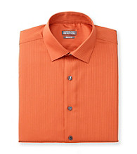Kenneth Cole REACTION® Men's Harvest Orange Long Sleeve Dress Shirt