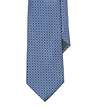Lauren® Men's Blue Circle Jacquard Silk Tie