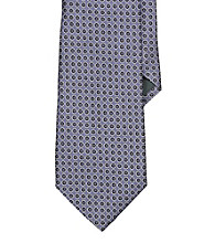 Lauren® Men's Lavender Circle Jacquard Silk Tie