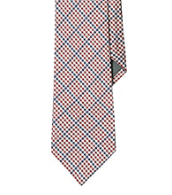 Lauren® Men's Red Gingham Silk Tie
