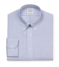 Eagle® Men's Blue Long Sleeve Dress Shirt