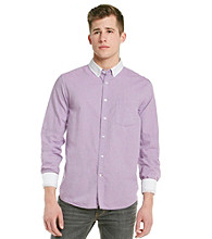 Guess Men's Purple Long Sleeve