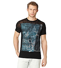 Calvin Klein Jeans® Men's Black Short Sleeve