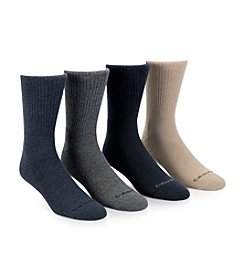 Calvin Klein Men's 4-Pack Assorted Crew Socks