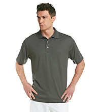 PGA Tour® Men's Dark Shadow Solid Mesh Polo