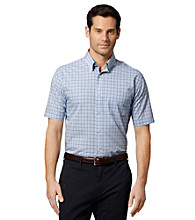 Van Heusen® Men's Short Sleeve Mini Checkered Woven Shirt