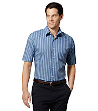 Van Heusen® Men's Short Sleeve Striped Woven Shirt