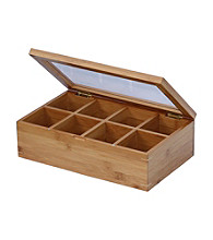 Oceanstar Natural Bamboo Tea Box