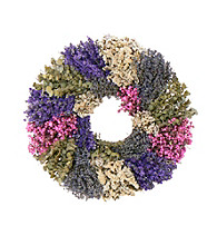 Lavender Wilderness Dried Floral Wreath