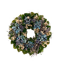 Thistle and Bloom Dried Floral Wreath