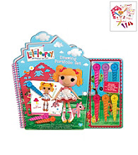 Lalaloopsy™ Activity Portfolio with Crayons