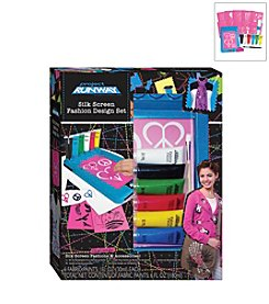 Project Runway Silk Screen Fashion Design Set