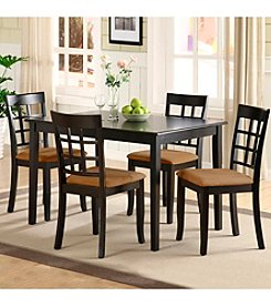 Home Interior 5-pc. Window Back Dining Set