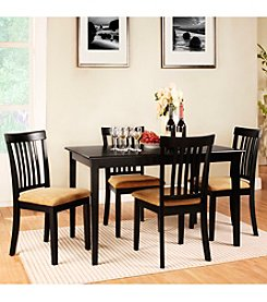 Home Interior 5-pc. Vertical Slat Back Dining Set