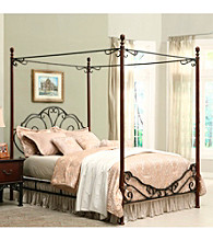 Home Interior Elegant Queen Canopy Bed