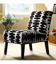 Home Interior Mod Print Accent Chair