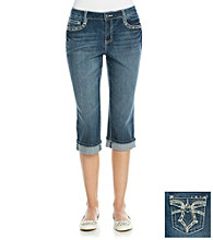 Earl Jeans® Dual Arrow Denim Capri