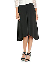 Evan-Picone® Solid Black Skirt