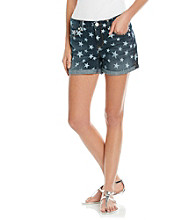 Nine West Vintage America Collection® Denim Star Shorts