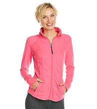 Calvin Klein Performance Ruched Workout Jacket