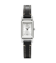 COACH BLACK MADISON STRAP WATCH