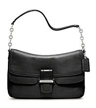 COACH MADISON LEATHER FLAP
