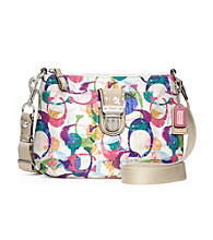 COACH POPPY STAMPED C SWINGPACK