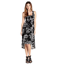 Karen Kane® Sleevless Scoopneck Hi-Low Hem Tank Dress