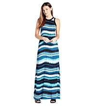 Karen Kane® Sleeveless Crewneck Maxi Tank Dress